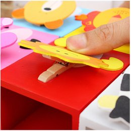 Wholesale New Design Cute Cartoon Creative Multifunction Wooden Pen Holders Portrait Animal Pen Holders Gifts