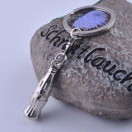 Wholesale Fedex Creative keychain Design Personalized Keychain Key ring Alloy Valentines Gift