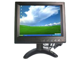 Wholesale 8inch TouchScreen VGA AV LCD Monitor Mini Computer Monitor Car Monitor POS terminal Control Terminal HF