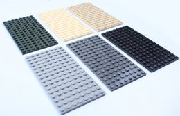 8x16 studs Plastic DIY Building Blocks Baseplate toys 30pcs