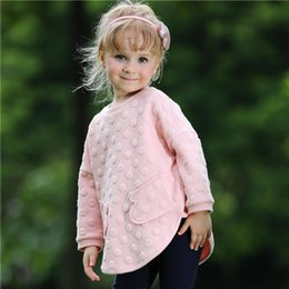 Pettigirl New Arrival Girls Clothing Set With Dot Top And Long Pants Children Pink Outfits For Autumn Kids Clothes CS80727-4F