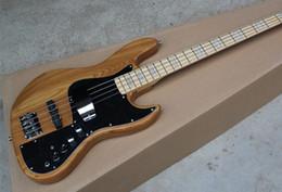 Grosses soldes !! Marcus Miller Signature 4 Couleur cordes Jazz Bass Guitare électrique Nature Bois 9V Amplifier Circuit actif à partir de guitares de signature à vendre fabricateur