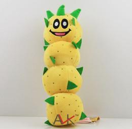Super Mario plush toys Super Mario 3D world Green caterpillar Plush Doll Stuffed Animals & Plush Toys