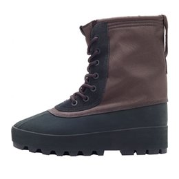 Wholesale 2015 new Yeezy Boots kanye west unisex High height increasing Running shoes Discount Cheap men Training Shoes Women and Sneakers Boots