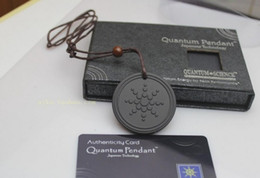 Wholesale Quantum Scalar Energ Pendant ions with Test Video with Card for each pendant
