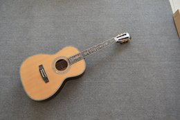 Wholesale Deluxe Acoustic guitar AAA Solid wood Back Side AAA Solid Abalone Binding Body acoustic guitar Beautiful inlay on fretboard