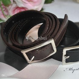 Wholesale PD05 Black coffee Multicolor choice women s all match thin section strap pin buckle belt g