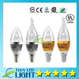 Moins cher !! 6W CREE LED bougie ampoule E14 E27 lampe de lumière de haute puissance spot conduit descendait Lampes lustre 220-240V + CE ROHS X50 à partir de e27 ce smd fabricateur