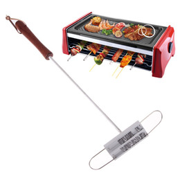 Wholesale Free DHL Personality Steak Meat Barbecue BBQ Branding Iron Letters Tool Sets