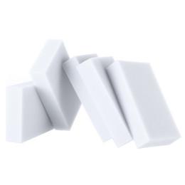 Wholesale 100 mm Grey Magic Sponge Cleaner Eraser Melamine Sponge Cleaner Eraser Esponja Magica Para Limpeza pack H9392