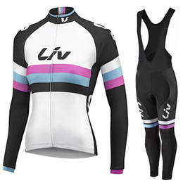 Cycling jersey long 2015 Liv women ropa ciclismo bicycle mtb maillot ciclismo mujer cycling clothing sport wear bike clothes