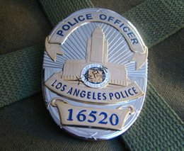 Wholesale The United States of Losangeles LAPD metal badge badge chest badge number copper