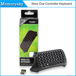 Wholesale NOT russian laptop keyboard New Professional PC Mini G Wireless Keyboard M For Microsoft Xbox One Console Controller Black