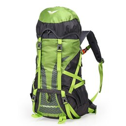 50L Professional climbing bags outdoor camping hiking backpack travel rucksack climb mountaineering bag pack mochila women&men