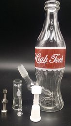 Wholesale 2015 New High Tech Glassworks quot Coca Cola quot Rig with Red Label mm Male Joint inches