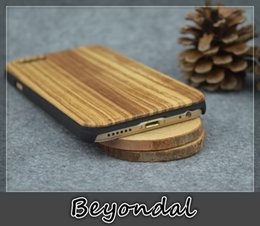 Wholesale For Iphone Wood Phone Cases Zebra Wood Veneer Shockproof Solid Handcrafted Natural wooden Bamboo cover Radiating luxury Chrismas DIY Gift