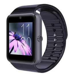 Wholesale Luxury GT08 Bluetooth Smartwatch Smart Watch for iPhone IOS Samsung Galaxy Android Smartphone Pedometer Sleep Monitoring NFC Dropshipping