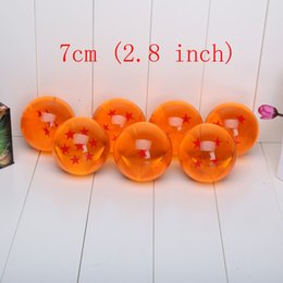 Wholesale 1 piece Big Size Inch CM Japan Anime Dragon ball Z star crystal ball retail package can choose star