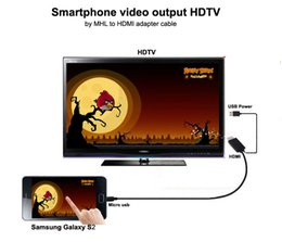 2M 6ft 1080P MHL Micro USB TO HDMI TV AV Cable Adapter HDTV For Samsung LG SONY Freeshipping
