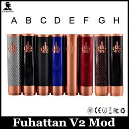 V2 fuhattan à vendre-Fuhattan V2 Mod Clone 18650 Fuhanta V2 Mod Avec Interrupteur Magnet Fit Pour Les 18650 Batteries VS Fuhattan Mod Mod Manhattan