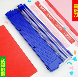 Wholesale Best price Portable Paper Cutting Machine Croppings Handmade Supplies Tools For A4 Paper Cutter Scrapbook