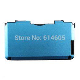 Light Blue Anti-shock Hard Aluminum Metal Box Cover Case Shell for Nintendo 3DS XL  3DS LL