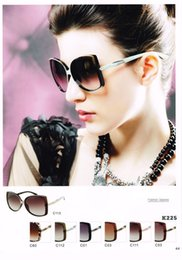Wholesale K225 Market monopoly brand womens sunglasses designers with box US Advanced CR lens butterfly sun glasses for women vintage