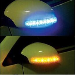 Descuento coche espejo decorativo Las luces decorativas de la luz LED de la atmósfera de las luces del coche libre del envío señalan el envío libre de las lámparas DC12v