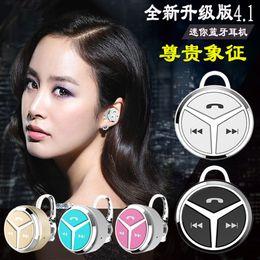 Four Languages Q5 Mini Stereo Mini Binaural Universal Bluetooth headset earphone headphone 4.1 Handfree Universal for All Phone