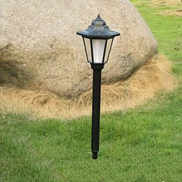 Wholesale Antique Luminaria LED Garden Solar Light Lamp Solar Power LED Path Lawn Lights Outdoor Lighting