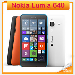 Unlocked Original Nokia Lumia 640 Windows phone 8.1 Mobile Phone Quad Core 5.0 Screen Dual Sim 4G refurbished mobile phone
