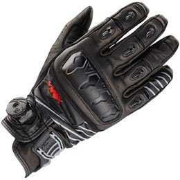Wholesale Knox orsa s top full leather short design motorcycle racing gloves motorcycle gloves