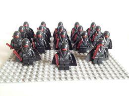 Wholesale Custom POGO Star Wars black imperial figure clone SHADOW GUARD MINIFIG minifigure Educational building blocks