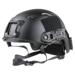 Wholesale TACTICAL LIGHTWEIGHT OPS CORE MILITARY HELMET BLACK ADJUSTABLE BICYCLE MOTORCYCLE ULTRALIGHT HELMET