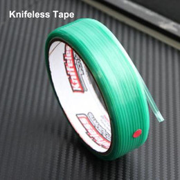Wholesale 2pcs Knifeless Tape Finish Line Tapes Cut Knife Auto Car Sticker Vinyl Film Cutting Tools Size cmx5000cm