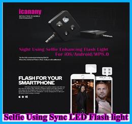 Pour iphone 6 IBLAZR L001 Amélioration selfie Utilisation de la synchronisation flash LED icanany led video pour DISR monopode selfie bâton Smartphone 4 a conduit la lumière à partir de conduit vidéo d'éclairage fabricateur