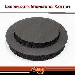 Wholesale Interior Accessories High Quality Car Auto Truck Automobile Sound Insulation Speaker Soundproof Cotton Self Adhesive jot