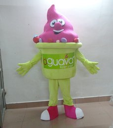 100% real photo fruit yogurt mascot costume for adult to wear custom LOGO accept