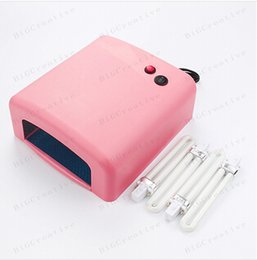 Wholesale Batter material uv lamp s w V nail art LED uv lamp gel curling x W lamps for drying nail polish