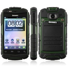 Discovery V5 V5+ Dustproof Shockproof Smart Phone Android 4.2 MTK6572 Dual Core WiFi 5.0MP Dual Sim Bluetooth GPS