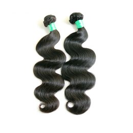 8A Brazilian Virgin Hair Body Wave Weft Hair Weave Extensions Full Head Natural Color Dyeable Bleachable Unprocessed 2pcs Lot Free shipping