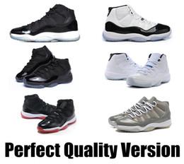 Wholesale retro bred concord Legend gamma blue lows XI men basketball shoes cheap sneakers pantone black Advanced Quality Version Sneakers