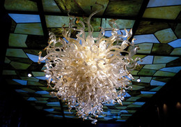 100% Mouth Blown CE UL Borosilicate Murano Glass Dale Chihuly Art Pretty Artistic Glass Owl Pendant