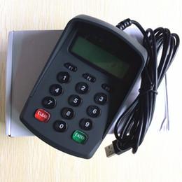 Wholesale Plug and Play USB Keys Keypad Numeric Keyboard Numpad Digital Keyboard Pin Pad Password keyboard with LCD No drive