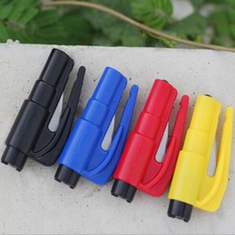 Wholesale 500X Keychain Car Emergency Rescue Safety Glass Breaker Hammer Escape Tool