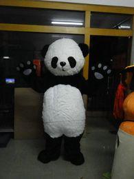 Wholesale Luxury Panda Bear Mascot Costum plush Free S H