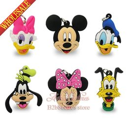 Wholesale Good news Lovely Mouse PVC Pendant kid Accessories Fit for Keychains necklace Bracelets kids party Gift