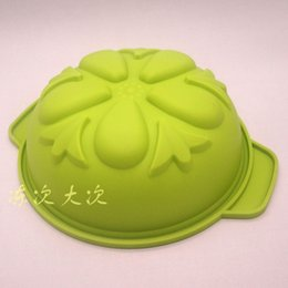 Wholesale American standard FDA high quality silicone cake mold five flower ears bread bowl mousse oven with baking mold DIY