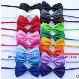Wholesale Dog Neck Tie Dog Bow Tie Cat Tie Pet Grooming Supplies Pet Headdress Flower