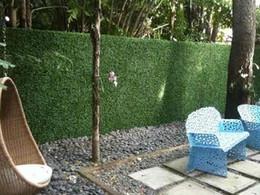 Wholesale 2016 HOT SALE Artificial plastic boxwood mat boxwood fence cm cm